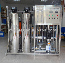 1T/H factory CE/SGS S/S auto mineral ro borehole salty water treatment system (KYRO-1000)
