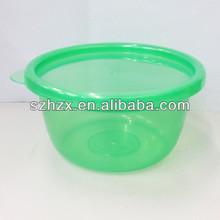Atacado limpar recipiente de plástico com tampa
