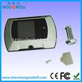 Bricolage de porte judas caméra vidéo avec écran lcd 2.4 gw601a-3 usine en chine