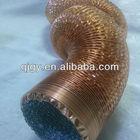 Metallized & steel wires in flexible duct