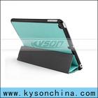 Folio pu leather fold case for ipad air, smart cover for ipad air