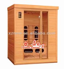 carbon infrared cedar sauna mini wooden barrels Infrared sauna KN-003A