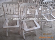 Sedia pieghevole di legno, acacia, oliato finitura
