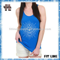 Women's Enlightened Tank, 50% Polyester, 50% Rayon Jersey t-shirts for women