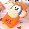 color couple trendy fashion universal silicone anime phone case