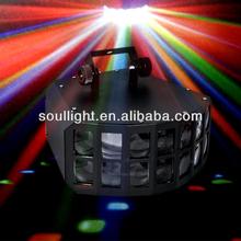 10w 3 in 1 RGB LED double derby light