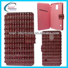 Full diamond leather case for s5