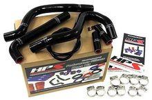 Kawasaki 94-02 KX250 Silicone Radiator Hose Kit Black
