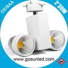 LED stage&Kitchen lighting 240V 2*30W/60W LED Light Track SAA approved