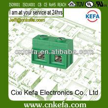 KF139-19.0mm 100 amp pcb screw clamp terminal blocks 600V/100A UL,CE,VDE