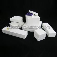 China custom logo printed cardboard paper jewelry box wholesale