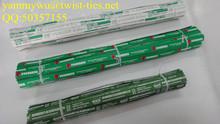 waterproof paper vegetable bind twist ties/tape/tags
