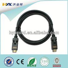 HDMI cable 19 pin, Standard HDMI cable 19+1pin, pure copper conductor