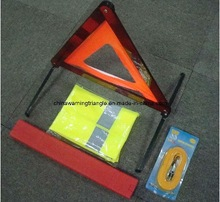 cheap Price for Cars/Emergency Car Safety Kit With Warning Triangle safety vest