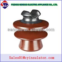 China manufacture 15kv pin Porcelein isolators for HV