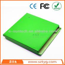 ECD009-US Mini Desktop External Drive USB2.0 External Hard Drive Case/Enclosure/Box for SATA/IDE Interface