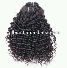 7AGrade Virgin Malaysian Kinky Curly Hair Weft For Black Women