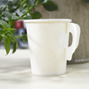disposable hot drink paper cup with handle