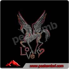 Rhinestone Transfer Wholesale Pegasus Unicorn Changsha peakemb Garment Accessory Co., Ltd