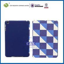 C&T Unique tablet standing pc+pu leather case for ipad mini