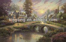 Light Up Led landscape Canvas Painting