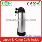 2014 MILITARY Factory TOP Quality 24v/36v/48v lithium long cycle life lifepo4 battery 36v 11ah