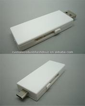 bulk cheap otg usb flash memory 16gb /multifunctional USB Flash Drive for smartphone