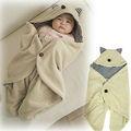 uyku çuval veya kundak pamuk bebek arazi pamuk kundaklama battaniye