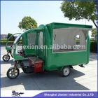 2014 Shanghai Made JX-FR220G gasoline motorcycle food cart with Sundae machine