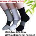 Sbamy baboo fibra calcetines de negocios, no hay olor