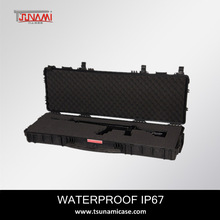 hunting products waterproof IP67 No.1133513 with handle rifle gun case with wheels power tool gun case