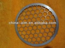 aluminum hexagonal perforated mesh sheet