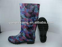 Hot selling sex PVC ladies rain boots