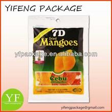 Food Grade Plastic Resealable Bag for Snack/Snack Bag