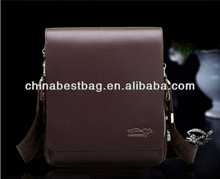 Fashion leisure messenger bag leather office bags for men