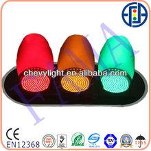Small lens LED traffic signal lamp