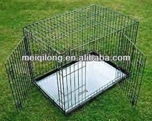 China Dog Cage & Dog Kennels With Black Power Coating