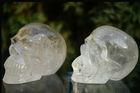 Wholesale CLEAR QUARTZ CRYSTAL skull carvings REIKI HEALING CRYSTAL SKULL
