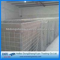 2014 Hot sale !!! high quality military sand filled gabion hesco blast wall