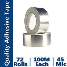 Aluminum-Foil Coated Fiberglass Insulation Tape(Aluminum Foil Coated With Rubber Adhesive)