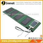 Cheap 8000mAh folding solar power bank storage power