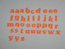 eva lower case letters/ eva foam lower case letters