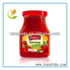 jam portion of tomato sauce for salad dressing
