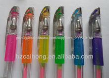 colorful glitter gel ink pen CH-6103