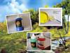 500ml high quality acrylic paint, bright colour acrylic paint, fast drying acrylic paint, EN71-3,EN71-9