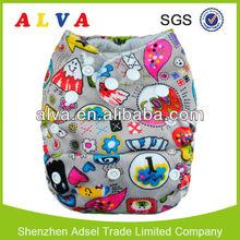 ALVA one size adjustable molfix diapers