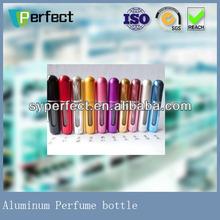aluminum bottle with complete shape, aluminum can for cosmetic, chemical, aerosol, aluminum aerosol spray bottle