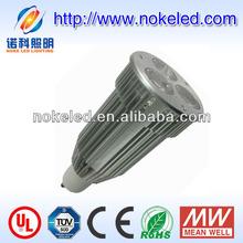 ul ce approved 4000-5000k 9w led garden spotlights gu10 base
