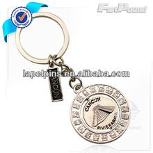 Promotional Metal Tourism Souvenir Spinning Key Chain