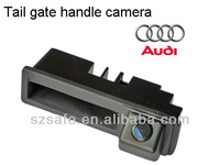 good quality high definition tail gate handle camera for audi A3 replace the original stock tail gate handle easy installation